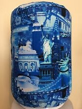NEW YORK CITY BIG APPLE 5 GALLON WATER COOLER BOTTLE COVER KITCHEN DECORATION