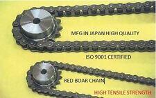 #80 ROLLER CHAIN OCM-JAPANESE HIGH QUALITY 10FT ROLL FOR LONG LIFE