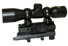 SKS 4X30 RIFLE SCOPE WITH TRI RAIL MOUNT COMBO PACKAGE