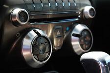 2010-2014 Chevrolet Camaro Billet Radio Knob Covers Satin