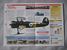 Aircraft of the World Card 34 , Group 10 - Bristol Bulldog