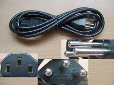 Cable/Cable de alimentación - 3 Plug-Alemán Vías Para Computadora/Monitor/laptop, etc
