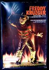 "Screamin' Freddy Krueger Nightmare on Elm Street Model Kit 1984 over 18"" Tall"