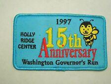 1997 15th Anniversary Washington Governor's Run Holly Ridge Bee Center Patch