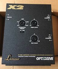 New Old School Lanzar X2 2-Way Optically Isolated Electronic Crossover,Rare