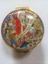 Halcyon Days England Christmas 2004 Trinket Box