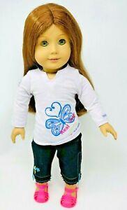 "American Girl Pleasant Company Felicity Merriman Historical 1774 Doll 18"""