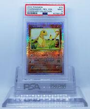 Pokemon LEGENDARY COLLECTION CHARMANDER #70 REVERSE HOLO FOIL CARD PSA 9 MINT #*