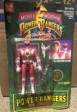 Bandai Mighty Morphin Power Rangers Original 1994 Pink Ranger Flip-head Sealed.