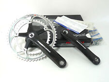 2002 Campagnolo Carbon Crankset Record 10 Speed 170mm FIRST GENERATION RARE NOS