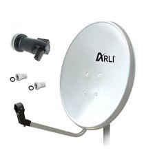 Sat Antenne 80 cm Anlage digital Satellitenschüssel schüssel Spiegel + LNB Singl