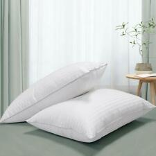 White Goose Down Feather Pillows Queen(2Pack) 20x28inches CORE PILLOW