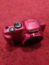 Canon Powershot SX 170 IS 16.0MP Digital Camera - Red