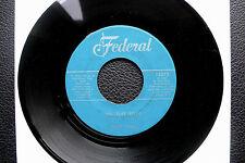 """7"""" Toby King - Mr. Tuff Stuff - US Federal"""
