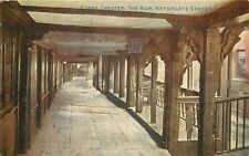 s09292 The Row, Watergate Street, Chester, Cheshire, England postcard unposted