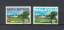 Malaysia 1966 Penang Free School, full set, SG 35 and 36, good/fine used