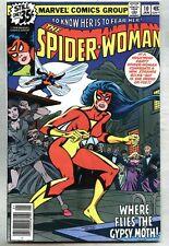Spider-Woman #10-1979 vf- Spiderwoman Gypsy Moth