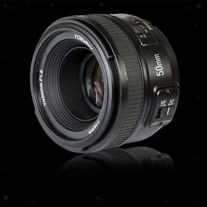 YN 50mm F1.8 Large Aperture AF Auto Focus FX DX Full Frame Lens for Nikon