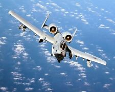 A-10 THUNDERBOLT II WARTHOG AIRCRAFT 8x10 SILVER HALIDE PHOTO PRINT