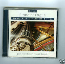 CD NEW PIANO & ORGUE JEAN PIERRE FEREY FREDERIC LEDROIT