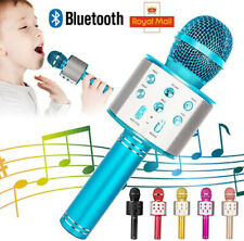 More details for handheld wireless bluetooth karaoke microphone usb ktv player mic speaker uk