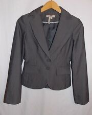 BCBG Generation Suit Jacket Blazer Pinstripe Design Ladies Size 2