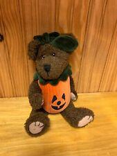 Boyds Bears - Punkie BooBear Fall Halloween Pumpkin Bear $25V