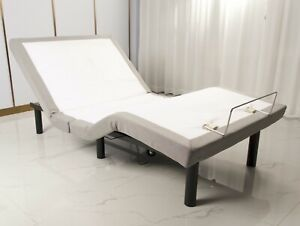 Electric Adjustable Bed Base with Massage; German OKIN motors, Zero Gravity