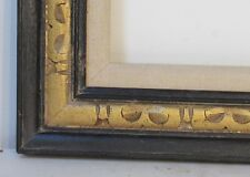 AMERICAN ART & CRAFTS HAND CARVED GILDED WOOD FRAME FOR PAINTING  20 X 16 INCH