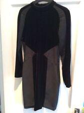 Zara Long Sleeve Mini Velvet Dresses for Women