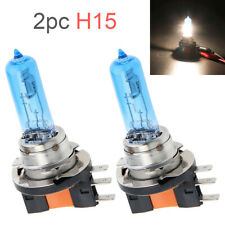 2x H15 Halogen Bulb 55W White Replacement Xenon Headlight DRL Lamp Light Tools