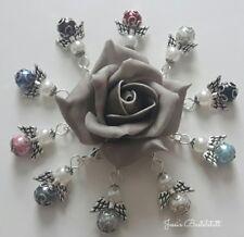 10 Schutzengel in bunt mit edlen Perlenkappen, Gastgeschenk, Hochzeit