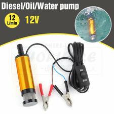 Aluminium Diesel Fuel Pump Submersible Transfer Vessel Water Oil Car Auto DC 12V