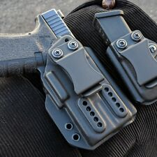 Olight Pl- Mini with Glock 19/19x/23/25 Inner waist band Kydex Holster.