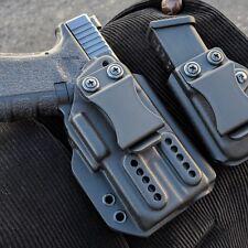 Olight Pl- Mini with Glock 19/19x/23/25 Inner waist band Kydex Holster.