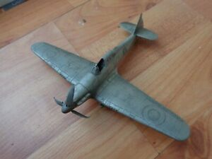 1/72 FRANKLIN MINT CLASSIC HAWKER HURRICANE WW2 PLANE PEWTER MODEL FROM 1987