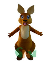 Kangaroo Mascot Costume Fancy Dress Outfit Clothing