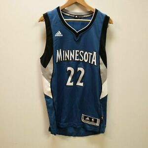 Adidas NBA Andrew Wiggins Minnesota Timberwolves 22 Swingman Jersey Away A69836