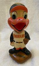 VINTAGE 1960s MLB BALTIMORE ORIOLES BASEBALL BOBBLEHEAD NODDER BOBBLE HEAD
