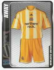 178 AWAY KIT ENGLAND NEWCASTLE UNITED STICKER FL CHAMPIONSHIP 2010 PANINI
