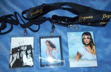 Beyonce 2007 Experience + 2005 Destinys Child Lanyard Concert Tour Souvenir New