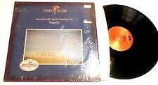 Chariots of Fire Soundtrack LP Vangelis UK IMPORT IN SHRINK w HYPE STICKER