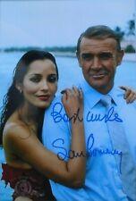 """Sean Connery  orig. Autogramm """" James Bond 007 """"  Großfoto 20x30 Sag niemals nie"""