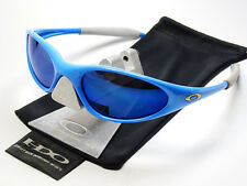 OAKLEY MINUTE BLUE ICE SONNENBRILLE TURBINE VALVE PLATE SCAR JULIET FIVE TOPCOAT