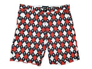 Men's Tattoo Golf Skulls Shorts Size - 38 Fit (41)