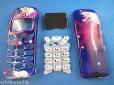 Front Back Cover Tastatur für Nokia 3210 Gehäuse Handy Schale Neu Polar Bear