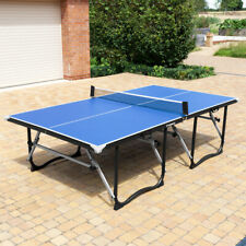 Vermont Table Tennis Tables | FOLDABLE OUTDOOR Ping Pong Tables + Bats/Balls