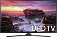 "Samsung UN50MU6070 50"" 4K Smart LED TV UN50MU6070"