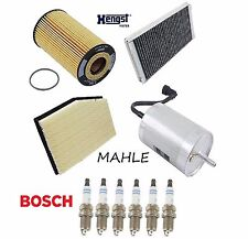 Tune Up Kit Air Cabin Fuel Oil Filter Spark Plugs for Porsche Boxster 2000-2004