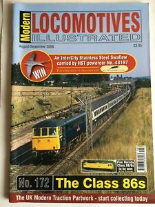 Modern Locomotives Illustrated N0.172 The Class 86s free post